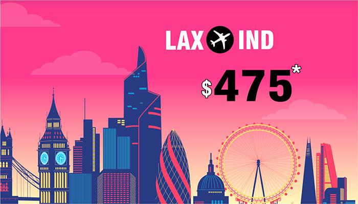 Last minute flight deals from lax to ny