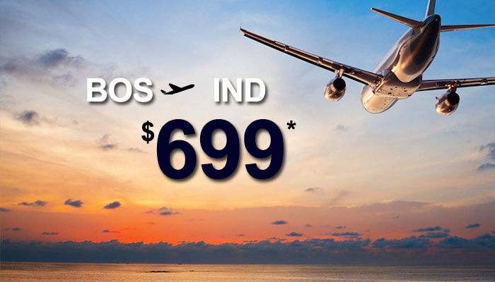 HOUSTON TO INDIA ROUND TRIP DEALS : STARTS FROM $699*
