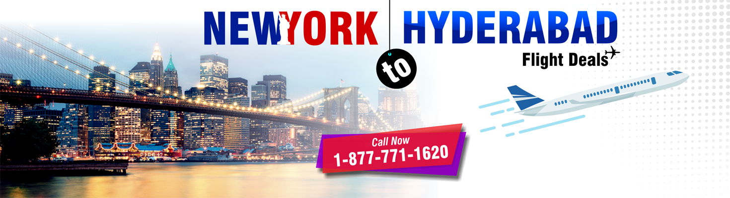 NYC TO HYDERABAD FLIGHTS