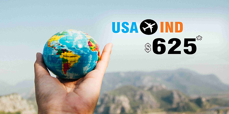 MARCH TRAVEL OFFERS : USA TO INDIA ROUND TRIP STARTS FROM $625*