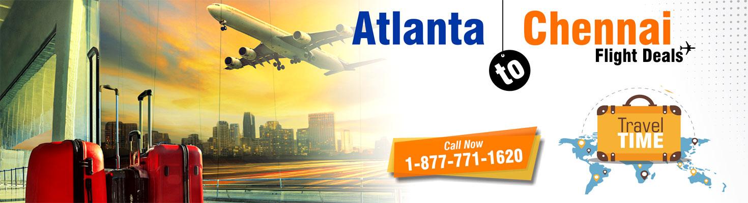 Atlanta to chennai flights