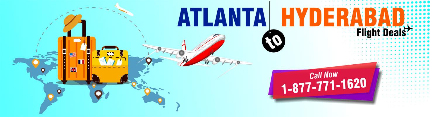 atlanta to hyderabad flights