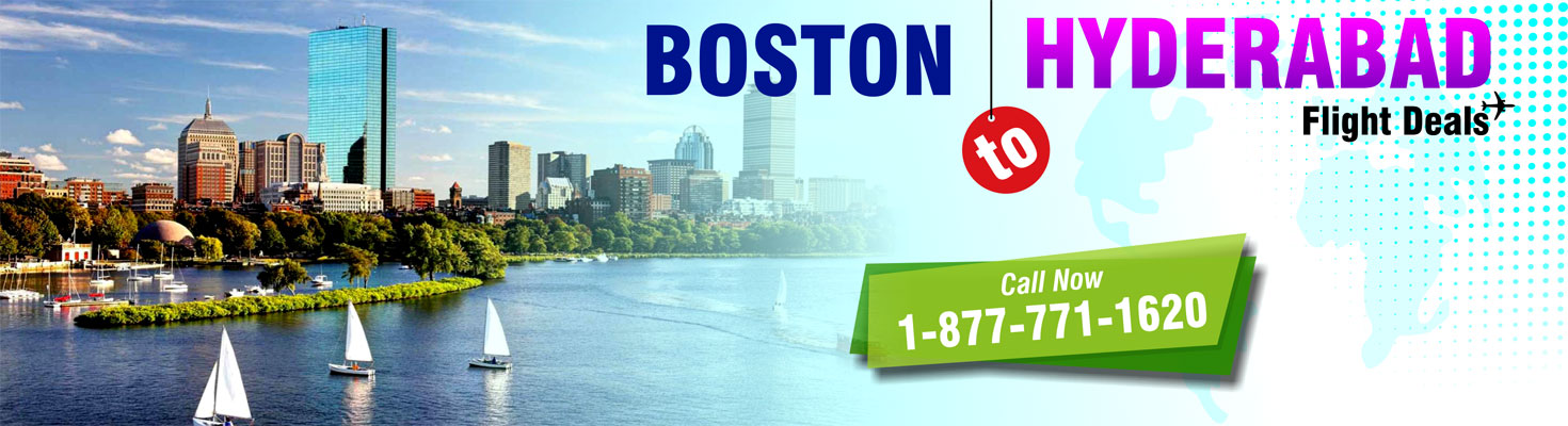 Boston to Hyderabad