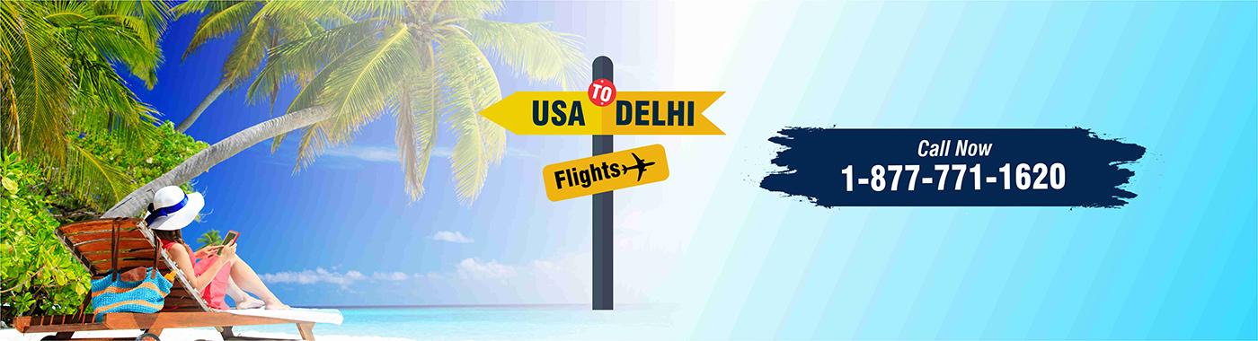 USA To DELHI Flights
