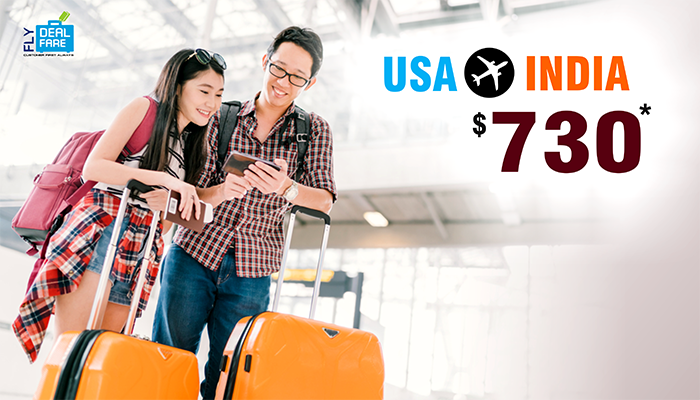 AUGUST TRAVEL OFFERS : USA TO INDIA ROUND TRIP STARTS FROM $730*