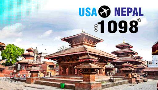 GRAB USA TO NEPAL FLIGHT DEALS : ROUND TRIP STARTS FROM $1098*