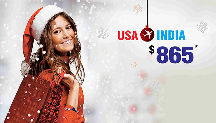christmas travel deals usa to india round trip flights. Black Bedroom Furniture Sets. Home Design Ideas