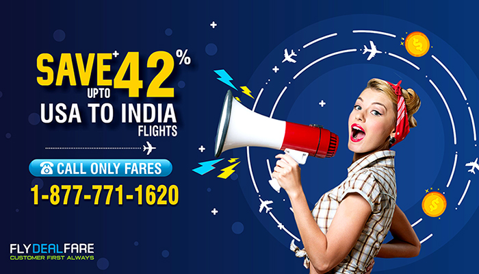 USA TO INDIA FLIGHT OFFERS : SAVE UPTO 42% OFF ON ROUND TRIP FLIGHTS
