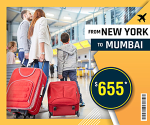 NEW YORK TO MUMBAI FLIGHTS