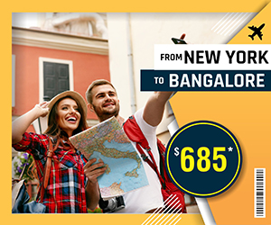 NEW YORK TO BANGALORE FLIGHTS