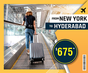 NEW YORK TO HYDERABAD FLIGHTS