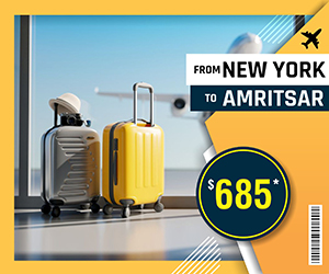 NEW YORK TO AMRITSAR FLIGHTS