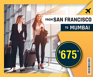 SAN FRANCISCO TO MUMBAI FLIGHTS