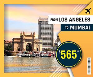 LOS ANGELES TO MUMBAI FLIGHTS