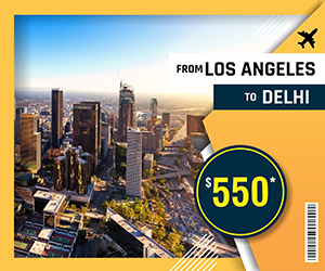LOS ANGELES TO DELHI FLIGHTS