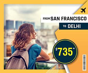SAN FRANCISCO TO DELHI FLIGHTS