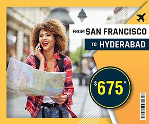 SAN FRANCISCO TO HYDERABAD FLIGHTS